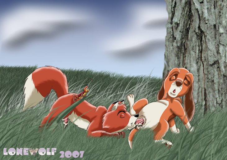 fox the from and chief hound Mom and dad cow and chicken