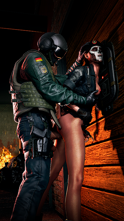 rainbow all operators female six siege Tomb raider fucked by a horse