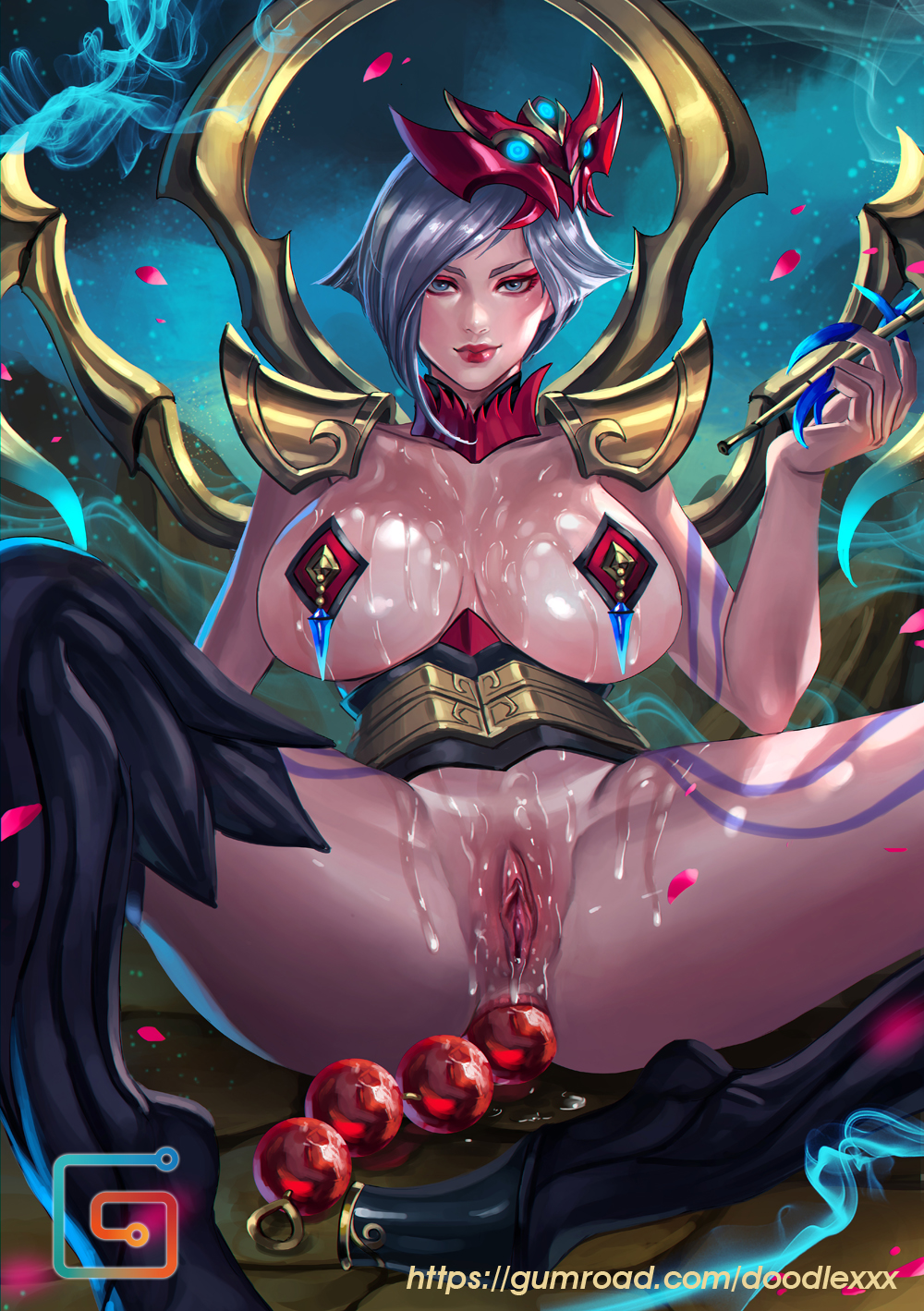 moon in game akali blood The witcher 3