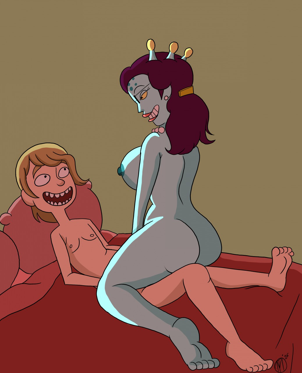 summer naked rick and morty The world vs killer queen