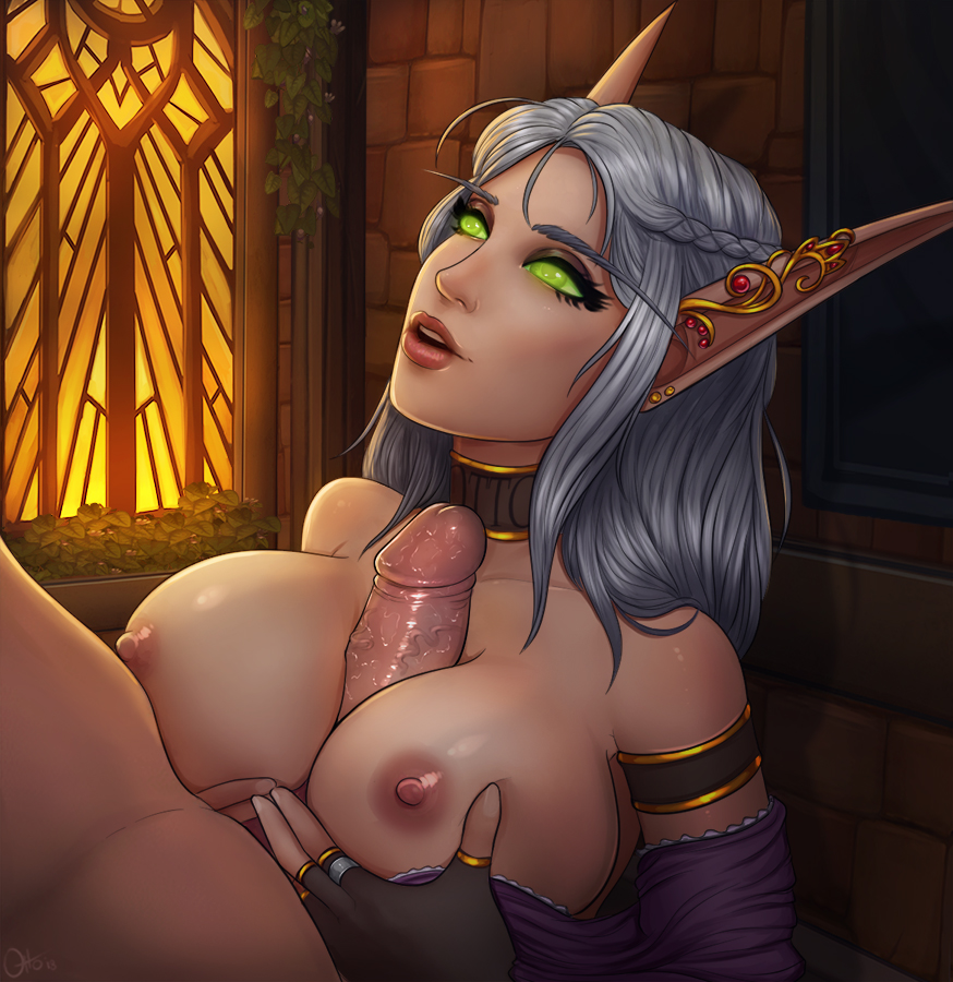 hentai warcraft blood world elf of Pictures of raven from cartoon network