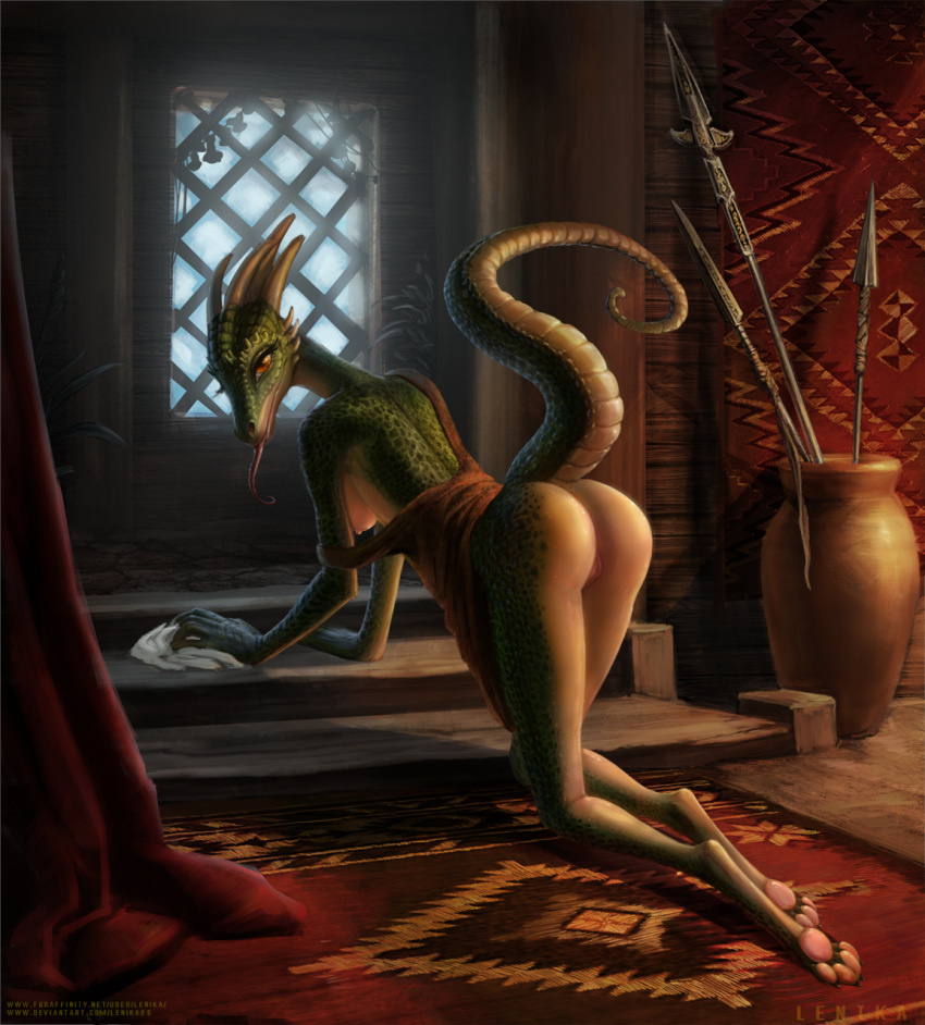 maid porn skyrim argonian lusty That time i got reincarnated as a slime sexy