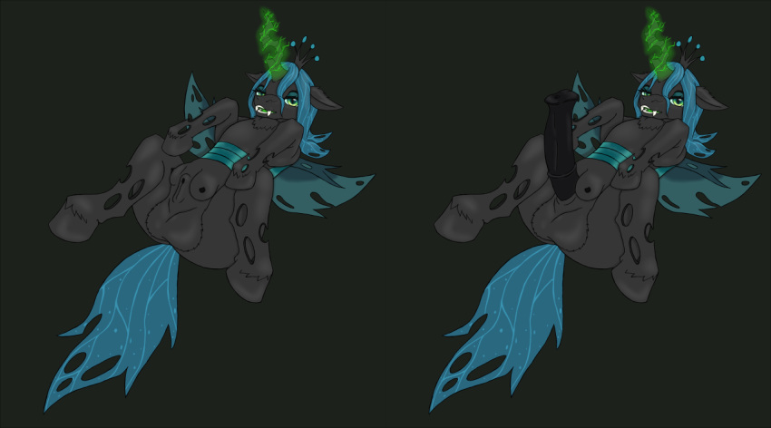 my little chrysalis pony from queen Sofia the first