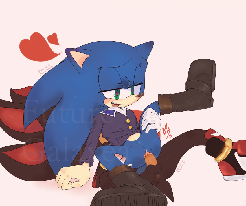 the shadow arms crossed hedgehog Fosters home for imaginary friends crossover
