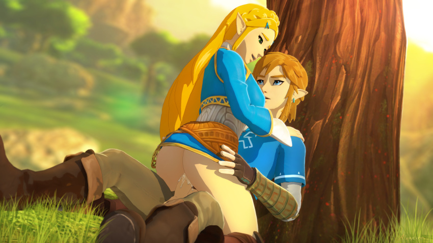of link breath wild mipha the and Peaches and cream furry porn