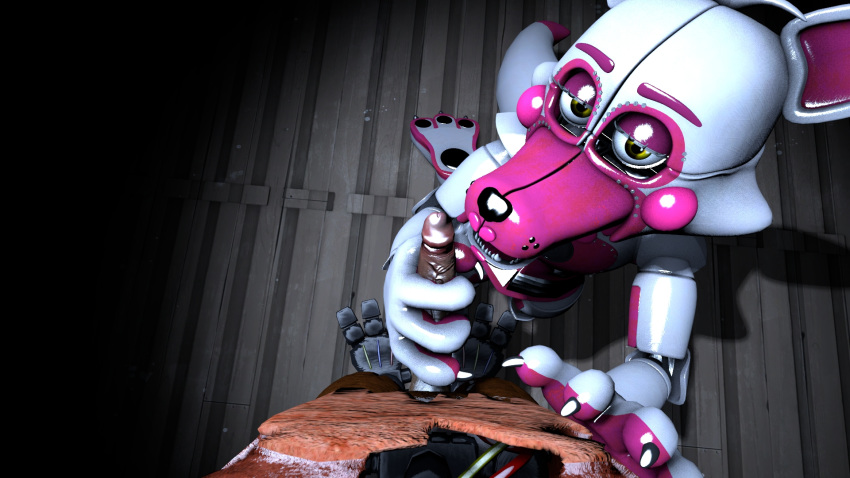 baby fnaf fanart sister location I want to commit sudoku