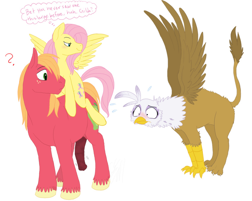 mlp big fluttershy and mac Ratchet and clank angela cross