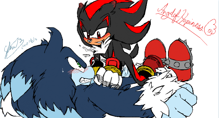 shadow sonic werehog the and Rouge the bat having sex
