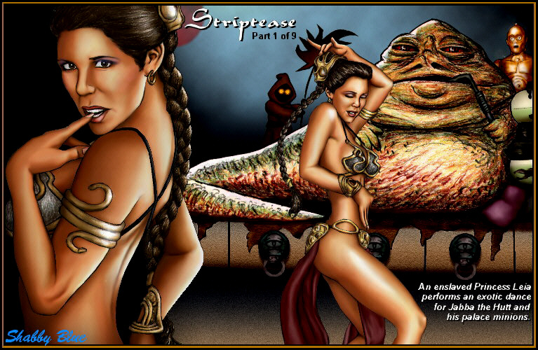 jabba the licks leia hutt Lois griffin and francine smith porn